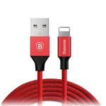 USB-кабель Baseus Yiven Cable (Lightning, красный, 1.2 м, 3A)