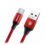 USB-кабель Baseus Yiven Cable (USB Type C, красный, 1.2 м, 3A)
