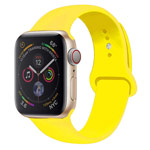 Ремешок для часов Yotrix Silicone Band для Apple Watch 42/44 мм (желтый, силиконовый)