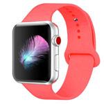 Ремешок для часов Yotrix Silicone Band для Apple Watch 42/44 мм (ярко-оранжевый, силиконовый)