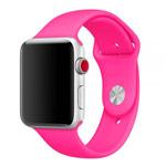 Ремешок для часов Yotrix Silicone Band для Apple Watch 42/44 мм (ярко-розовый, силиконовый)