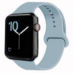 Ремешок для часов Yotrix Silicone Band для Apple Watch 42/44 мм (голубой, силиконовый)