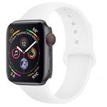Ремешок для часов Yotrix Silicone Band для Apple Watch 38/40 мм (белый, силиконовый)