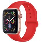 Ремешок для часов Yotrix Silicone Band для Apple Watch 38/40 мм (красный, силиконовый)
