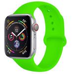 Ремешок для часов Yotrix Silicone Band для Apple Watch 38/40 мм (ярко-зеленый, силиконовый)