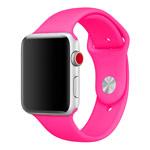 Ремешок для часов Yotrix Silicone Band для Apple Watch 38/40 мм (ярко-розовый, силиконовый)