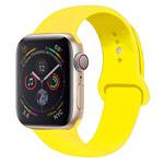 Ремешок для часов Yotrix Silicone Band для Apple Watch 38/40 мм (желтый, силиконовый)