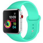 Ремешок для часов Yotrix Silicone Band для Apple Watch 38/40 мм (бирюзовый, силиконовый)