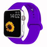 Ремешок для часов Yotrix Silicone Band для Apple Watch 38/40 мм (фиолетовый, силиконовый)