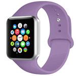 Ремешок для часов Yotrix Silicone Band для Apple Watch 38/40 мм (лавандовый, силиконовый)