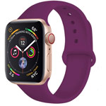 Ремешок для часов Yotrix Silicone Band для Apple Watch 38/40 мм (сиреневый, силиконовый)