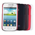 Чехол Jekod Hard case для Samsung Galaxy Young S6310 (темно-коричневый, пластиковый)