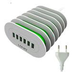 Зарядное устройство LDNIO Desktop Charger универсальное (сетевое, 6xUSB, 2.4A, белое)