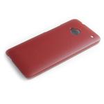 Чехол Jekod Leather Shield case для HTC One 801e (HTC M7) (темно-коричневый, кожанный)