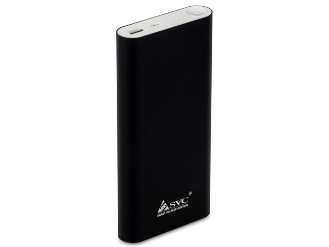 Внешняя батарея SVC Powerbank универсальная (20000 mAh, черная)