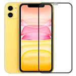 Защитное стекло Yotrix 3D SE Glass Protector для Apple iPhone 11 (черное)