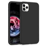 Чехол Yotrix LiquidSilicone для Apple iPhone 11 pro (черный, гелевый)