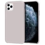 Чехол Yotrix LiquidSilicone для Apple iPhone 11 pro (бежевый, гелевый)