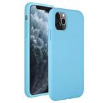 Чехол Yotrix LiquidSilicone для Apple iPhone 11 pro (темно-голубой, гелевый)