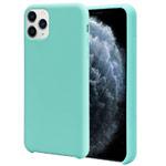 Чехол Yotrix LiquidSilicone для Apple iPhone 11 pro max (бирюзовый, гелевый)