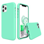 Чехол Yotrix LiquidSilicone для Apple iPhone 11 pro max (зеленый, гелевый)