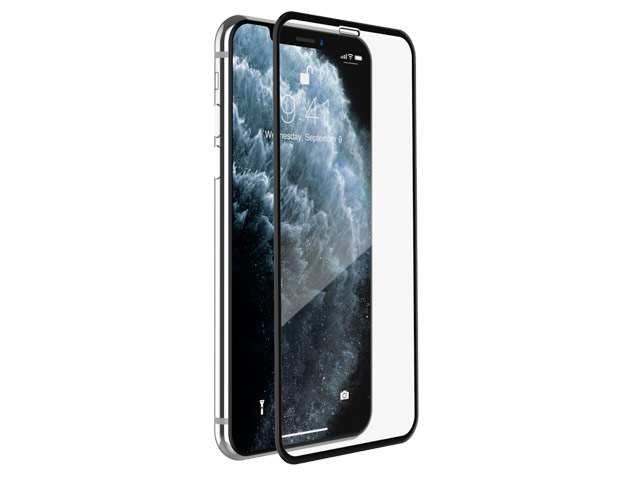 Защитное стекло Yotrix 3D Advance Glass Protector для Apple iPhone 11 pro (черное)
