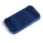 Чехол Jekod Diamond case для Samsung Galaxy S4 i9500 (синий, кожанный)