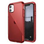 Чехол X-doria Defense Air для Apple iPhone 11 (красный, маталлический)