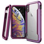 Чехол X-doria Defense Shield для Apple iPhone XS (фиолетовый, маталлический)