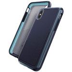 Чехол X-doria Defense Ultra для Apple iPhone XS max (синий, маталлический)