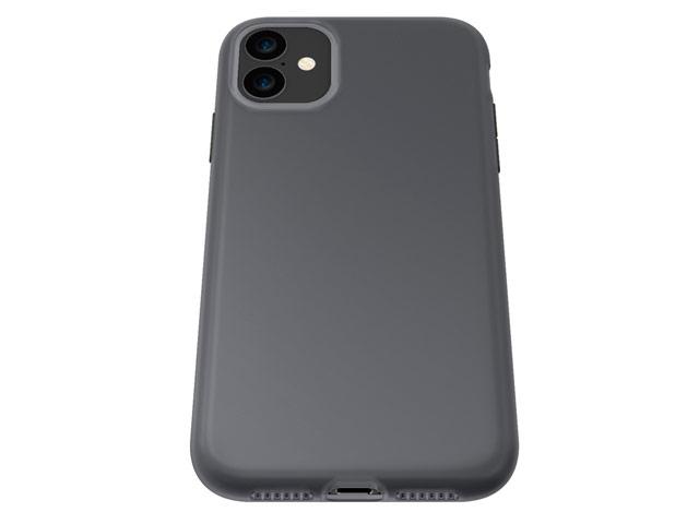 Чехол X-doria AirSkin для Apple iPhone 11 (серый, гелевый)
