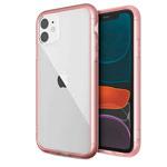Чехол X-doria Glass Plus для Apple iPhone 11 (розовый, гелевый/стеклянный)