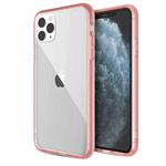 Чехол X-doria Glass Plus для Apple iPhone 11 pro max (розовый, гелевый/стеклянный)