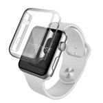 Чехол X-doria Defense 360 для Apple Watch Series 2 (38 мм, прозрачный, пластиковый)