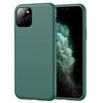 Чехол Yotrix LiquidSilicone для Apple iPhone 11 pro (темно-зеленый, гелевый)