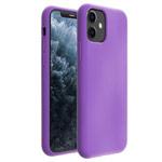 Чехол Yotrix LiquidSilicone для Apple iPhone 11 (сиреневый, гелевый)