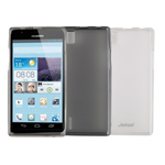 Чехол Jekod Soft case для Huawei Ascend P2 U9700 (белый, гелевый)
