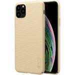 Чехол Nillkin Hard case для Apple iPhone 11 pro max (золотистый, пластиковый)
