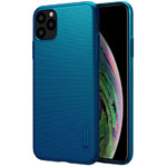 Чехол Nillkin Hard case для Apple iPhone 11 pro max (синий, пластиковый)