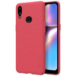 Чехол Nillkin Hard case для Samsung Galaxy A10s (красный, пластиковый)
