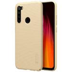 Чехол Nillkin Hard case для Xiaomi Redmi Note 8 (золотистый, пластиковый)