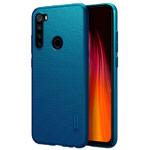 Чехол Nillkin Hard case для Xiaomi Redmi Note 8 (синий, пластиковый)