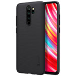 Чехол Nillkin Hard case для Xiaomi Redmi Note 8 pro (черный, пластиковый)