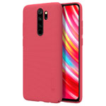 Чехол Nillkin Hard case для Xiaomi Redmi Note 8 pro (красный, пластиковый)