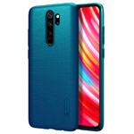 Чехол Nillkin Hard case для Xiaomi Redmi Note 8 pro (синий, пластиковый)
