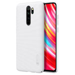 Чехол Nillkin Hard case для Xiaomi Redmi Note 8 pro (белый, пластиковый)
