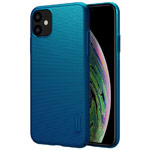 Чехол Nillkin Hard case для Apple iPhone 11 (синий, пластиковый)