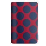 Чехол X-doria SmartStyle для Apple iPad 2017/2018 (Navy Dots, матерчатый)