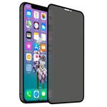 Защитное стекло Yotrix 3D Privacy Glass Protector для Apple iPhone 11 pro max (черное, тонированное)