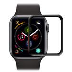 Защитная пленка AMC Piexiglass Screen Protector для Apple Watch 44 мм (черная)